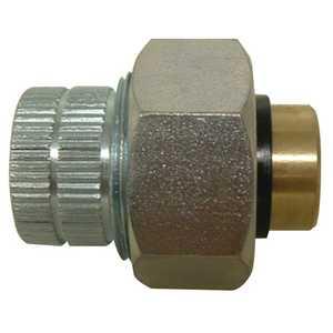Watts A896/PB204 3/4 Fip X 3/4 Sweat Brass Dielectric Union