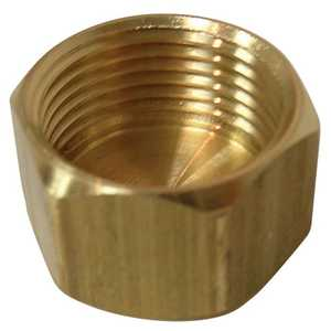 Watts LFA-205 1/2 in Od Compression Lead Free Brass Cap