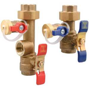 Watts LFTWH-FT-HCN 3/4 in Lead Free Tankless Water Heater Valve Set