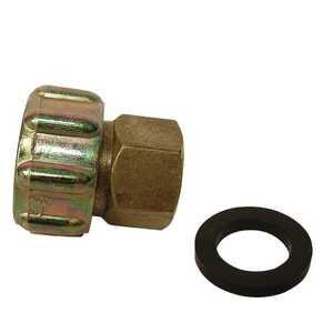 Watts LFA-660 3/4 Female Hose X 1/2 Fip Lead Free Zinc Brass Swivel