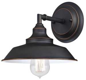 Westinghouse Lighting 6343500 Iron Hill One-Light Wall Fixture