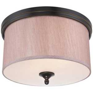 Westinghouse Lighting 6341600 Packard Two-Light Indoor Flush Ceiling Fixture