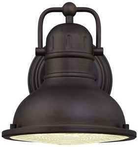 Westinghouse Lighting 62034 Outdoor LED Wall Lantern, Oil Rubbed Bronze