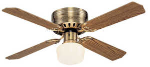 Westinghouse Lighting 78123 Single-Light 42-Inch Indoor Ceiling Fan