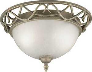 Westinghouse Lighting 67599 Flush Mount Ceiling Light 2-Light Ebony Bronze