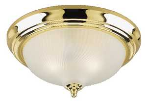 Westinghouse Lighting 64302 Two-Light Flush-Mount Interior Ceiling Fixture
