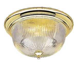 Westinghouse Lighting 66465 Three-Light Flush-Mount Interior Ceiling Fixture