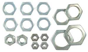 Westinghouse Lighting 7015200 16 Assorted Steel Hex Nuts