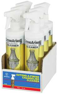 Westinghouse Lighting 7029800 Extend-A-Finish Crystal and Fixture Cleaner, Pack of Six