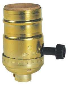 Westinghouse Lighting 7041200 Three-Way Turn-Knob Socket