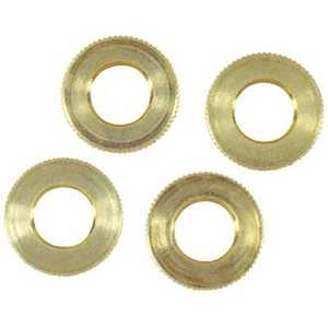 Westinghouse Lighting 70620 Four Solid Brass Knurled Locknuts