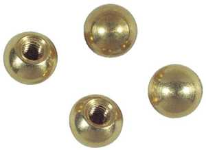 Westinghouse Lighting 7066000 Four Solid Brass Cap Nuts