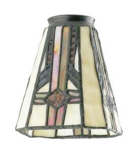 Westinghouse Lighting 8112100 Square Tiffany Glass Shade