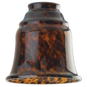 Westinghouse Lighting 8135600 Tortoise Glass Bell Shade