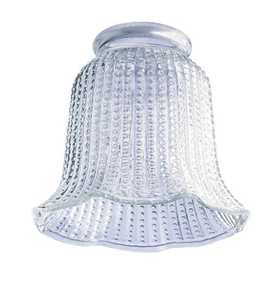 Westinghouse Lighting 8146800 Clear Beaded Glass Bell Shade