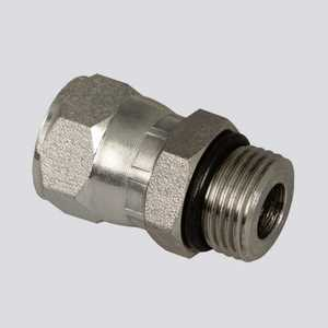 Apache Hose and belting 39038898 1/2 In Male O-Ring Boss X 1/2 In Female Pipe Thread Hydraulic Adapter
