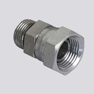Apache Hose and belting 39005775 1/2 In Male O-Ring Boss X 3/8 In Female Pipe Thread Swivel Hydraulic Adapter