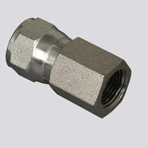 Apache Hose and belting 39006200 5/8 In Female Jic Swivel X 1/2 In Female Pipe Thread Hydraulic Adapter