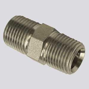 Apache Hose and belting 39035452 1/2 In Male Pipe Thread X 1/2 In Male Pipe Thread Hydraulic Adapter