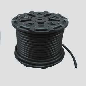 Apache Hose and belting 10031665 1/2 In X 250 Ft Black 200 PSI Multipurpose (ag 200) Air & Water Hose Reel
