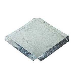 DOT METAL PRODUCTS 10495 Galvanized Pier Cap 8x16