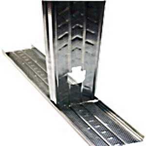 DOT METAL PRODUCTS 15970 Diamond Steel Framing Stud 25 Gauge 35/8x10 Ft