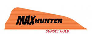 Arizona Archery MHASG100 Max Hunter Vanes 100pk Sun Gold