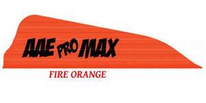 Arizona Archery PMHAFO40 Promax Hunter Vanes 40pk Fire Orange
