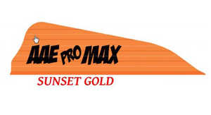 Arizona Archery PMHASG40 Promax Hunter Vanes 40pk Gold