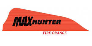 Arizona Archery MHAFO40 Max Hunter Vanes 40pk Fire Orange