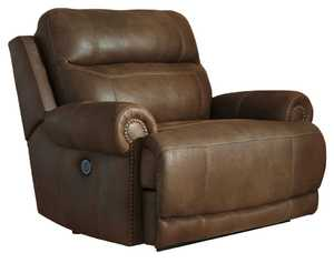 Signature Design By Ashley 3840052 Austere Zero Wall Recliner Brown