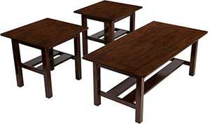 Signature Design By Ashley T309-13 Lewis 3-Piece Occasional Table Set