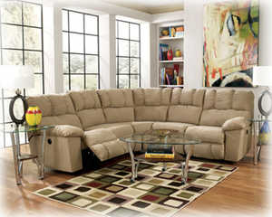 Signature Design By Ashley 1520148/49 Sectional Reclining Lakesha Tan