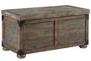 Signature Design By Ashley T500-720 Vennilux - Multi Storage Cocktail Table