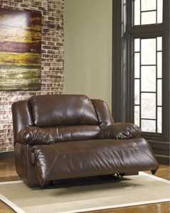 Signature Design By Ashley 9380152 Parnell DuraBlend - Espresso Zero Wall Wide Seat Recliner