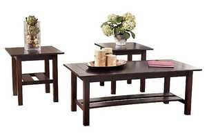 Signature Design By Ashley T309-13 Lewis Occasional Table Set
