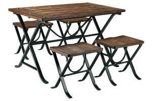 Signature Design By Ashley D311-225 Freimore 5-Piece Rectangle Table Set