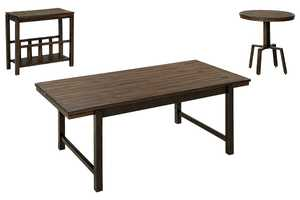 Signature Design By Ashley T212-13 Riggerton 3-Piece Occasional Table Set