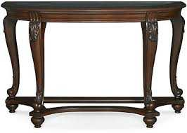 Signature Design By Ashley T499-4 Norcastle Dark Brown Sofa Table