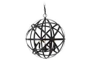 Signature Design By Ashley L000008 Cade Antique Bronze Metal Pendant Light