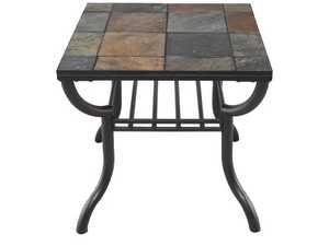 Signature Design By Ashley T233-2 Antigo Black Square End Table