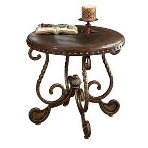 Signature Design By Ashley T382-6 Rafferty Dark Brown Round End Table