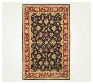 Signature Design By Ashley R004002 Rug Isphan Charcoal 5 ft X 7 ft 9 in