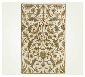 Signature Design By Ashley R22700 Rug Floral Green 5 ft X 7 ft 9 in