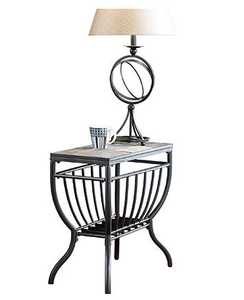 Signature Design By Ashley T233-7 Antigo - Black Chair Side End Table