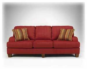 Signature Design By Ashley 1680238 Sofa Axis-Berry