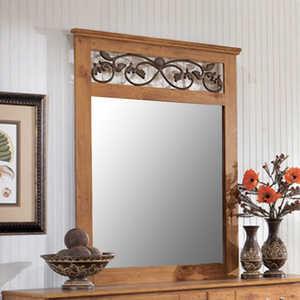 Signature Design By Ashley B219-36 Bittersweet Light Brown Bedroom Mirror