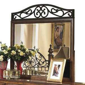 Signature Design By Ashley B429-36 Wyatt Wood Frame Mirror