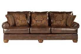 Signature Design By Ashley 9920038 Durablend Antique Sofa