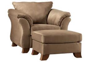 Signature Design By Ashley 3610220 Durapella - Cocoa Chair